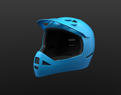 Fullface mtb helmet