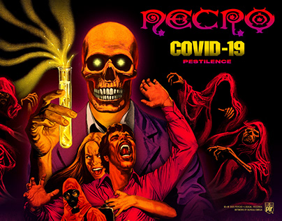 "Necro ""Covid-19 (Pestilence)"""