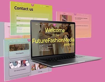 Future Fashion Media Web Design