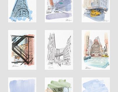 Urban Recordings - Vol.1 New York Poster Series