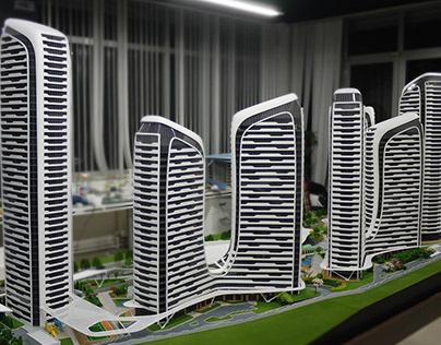 Architectural Model Iconova 1/100