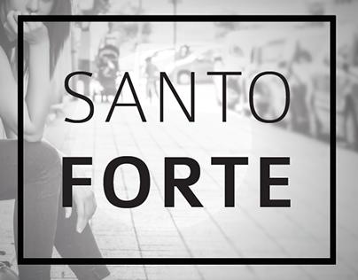 Santo Forte - Branding