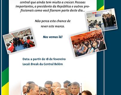 Atento - Cobertura da inauguração da central Belém