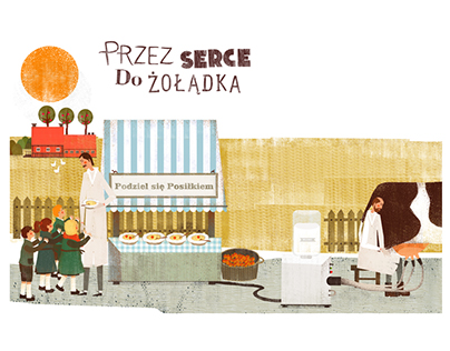 ILLUSTRATIONS FOR DANONE