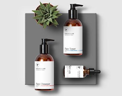 Peninsular Logo & Products' Label Design