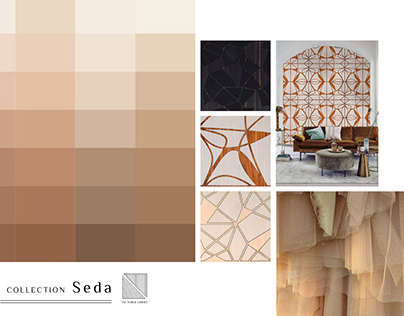 """Marqueterie Murale // Collection """"Seda"""""""