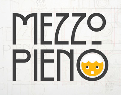 MezzoPieno: Logo and branding