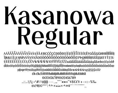 Kasanowa Regular