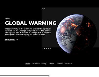 Global Warming Website