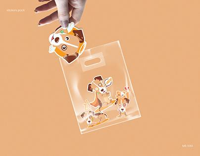 stickers pack | MR. VAV