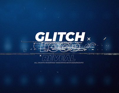 Glitch Logo Reveal (After Effects Template)
