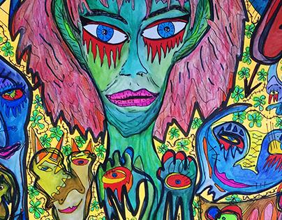 Cursed Seeds (35x50)