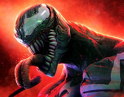 Marvel villain promo illustration