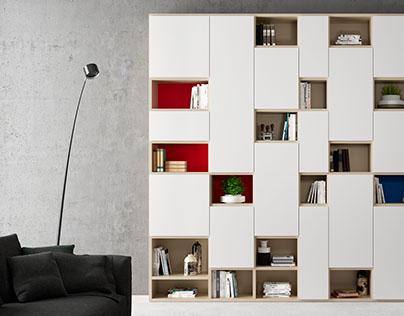 living on behance. Black Bedroom Furniture Sets. Home Design Ideas