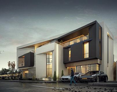 M. Lawati Villa | Design & Visualizations.