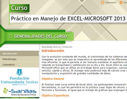 Sitio - Curso Excel