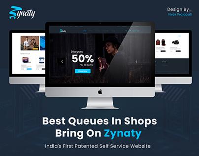 Website Design For Zynaty Online Shopping Centre