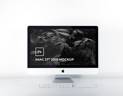 "iMac 27"" 2019 Mockup"
