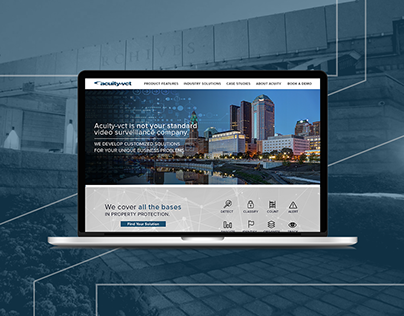 Acuity-VCT · Website Redesign