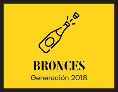 BRONCES: Curso de Creatividad Integral 2018