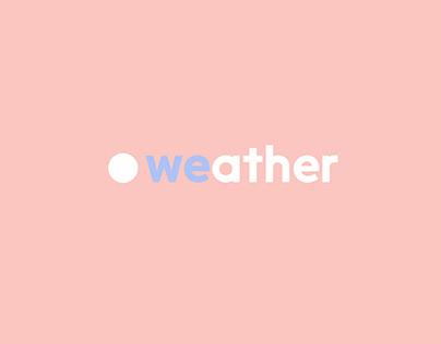 Weather l'app météo