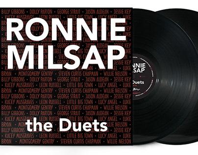 Ronnie Milsap - the Duets album cover
