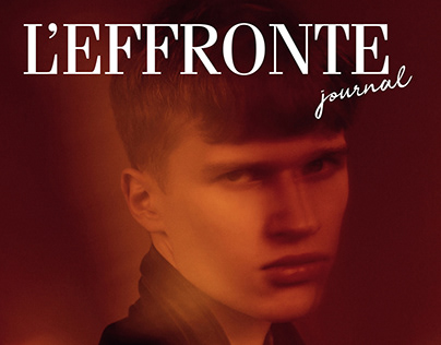 """Point Rouge"" editorial for L'effronte journal"