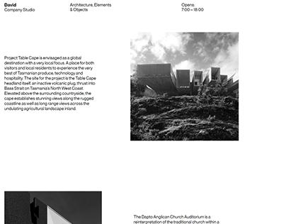 Architecture Company Website