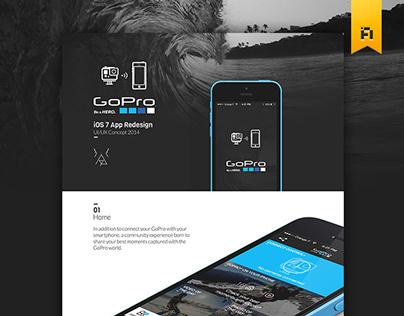 GoPro iOS App Concept