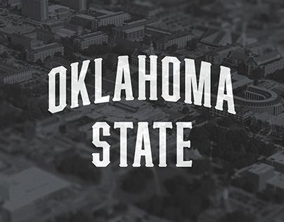 Oklahoma State Athletics Wordmarks