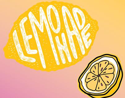 Flexographic Sticker Design_Lemonade