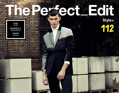 """""""Dressed to thrill"""" editorial for PERFECT MAN magazine"""