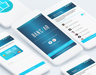 Diseño y análisis UX App Banc/ar