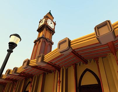 Modelagem 3D - Torre do Relógio
