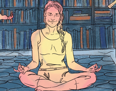 Yoga mom's lifestyle