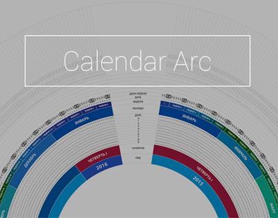 Calendar Arc Russian Edition - Drawing