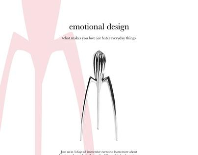 Visual Design: Speaker series promotion materials