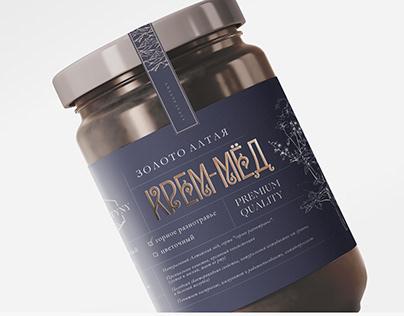 Honey package Упаковка меда Алтайский мед