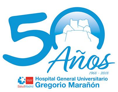 Logotipo 50 aniversario HGUGM