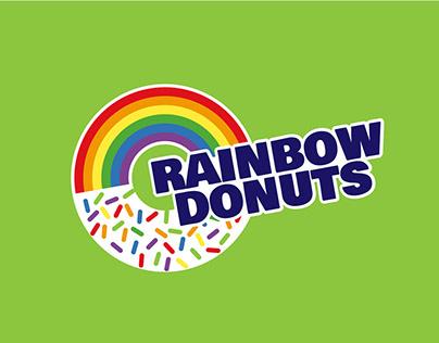 Rainbow Donuts Re-Branding