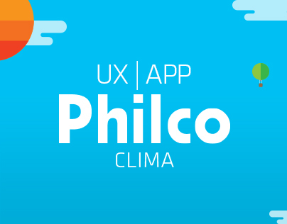 UX | Interaction Design - Philco Clima