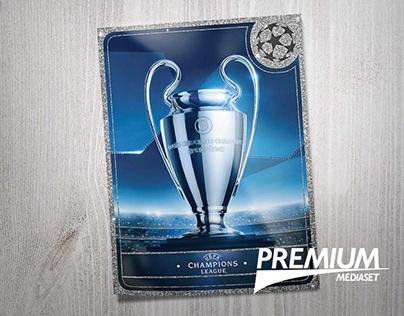 Mediaset Premium | Campagna abbonamento Champions 2017