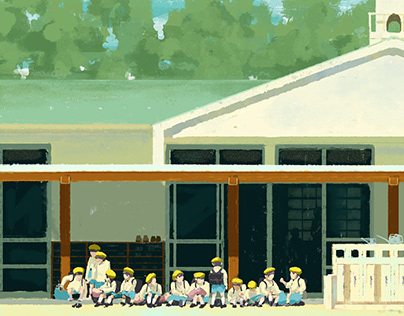 Personal Work Japanese Kindergarten