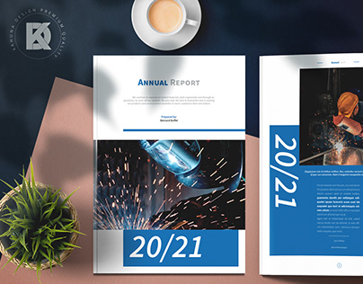 Annual Report Indesign Project