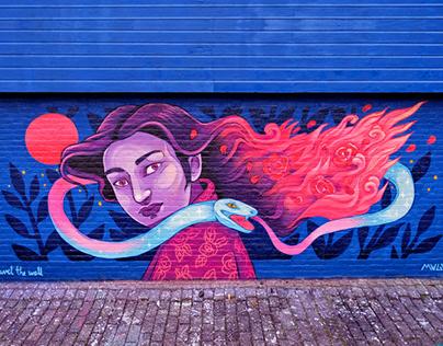 Rosa de foc * Rotterdam