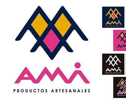 LOGOTIPO Productos Artesanales AMI