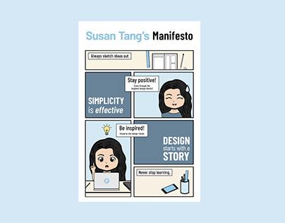 Susan Tang's Manifesto