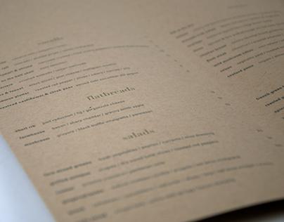 Restaurant Rebrand // Fare