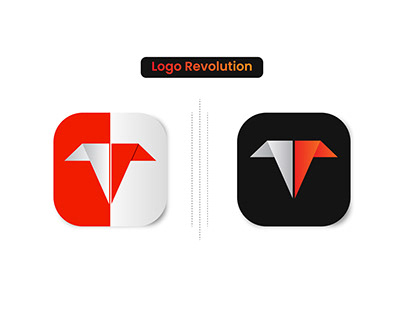 Logo Redesign, Revolution, Abstract T