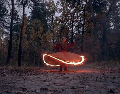 KALANDER — burning wheel